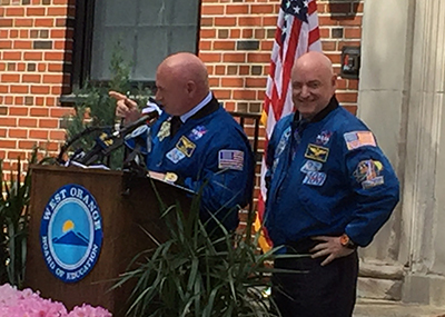Kelly Brothers astronauts