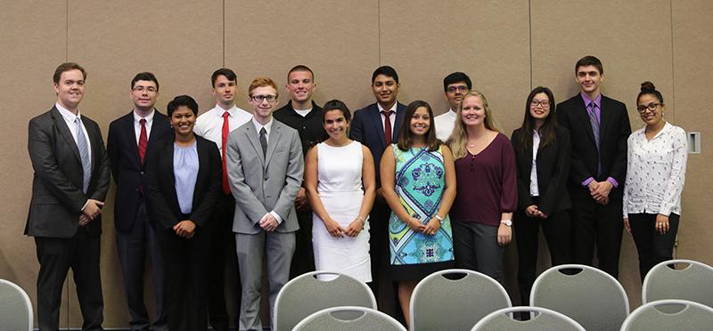 2017 Group of NJSGC summer fellows