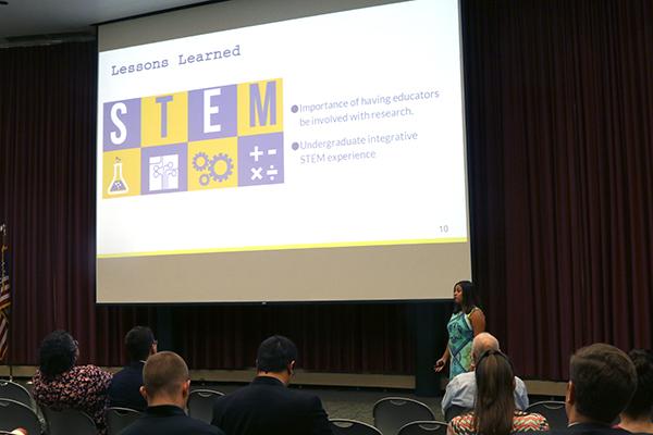 Moorzitz presents on STEM