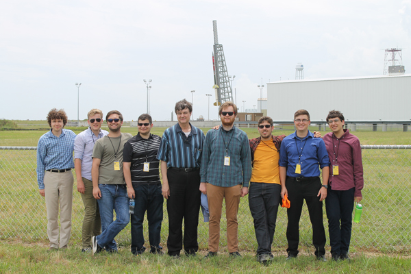 team at launch pad 2010
