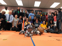 NCAS Rover Competition 2019 group